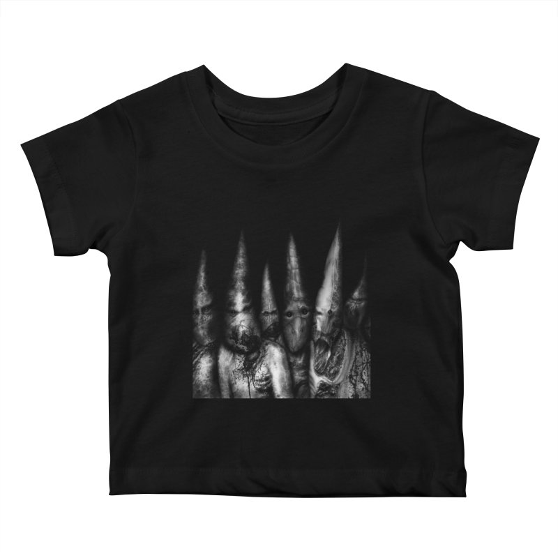 Six Missionaries Kids Baby T-Shirt by Black Abyss