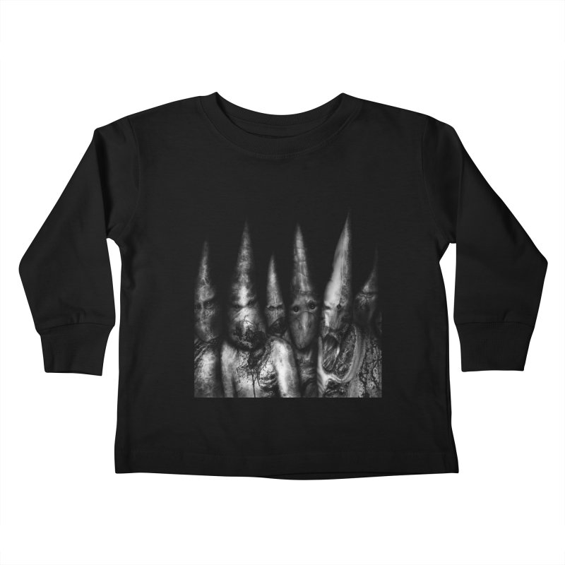 Six Missionaries Kids Toddler Longsleeve T-Shirt by Black Abyss