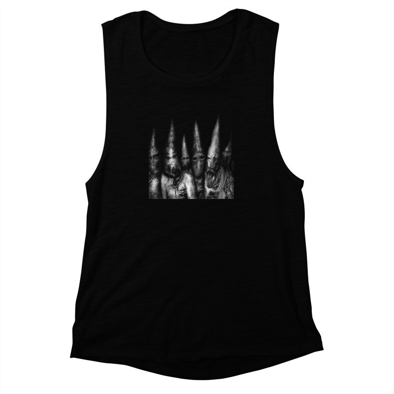 Six Missionaries Women's Muscle Tank by blackabyss's Artist Shop