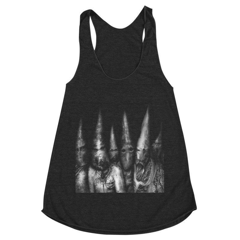Six Missionaries Women's Racerback Triblend Tank by Black Abyss