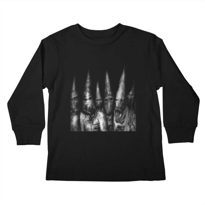 Six Missionaries Kids Longsleeve T-Shirt by Black Abyss