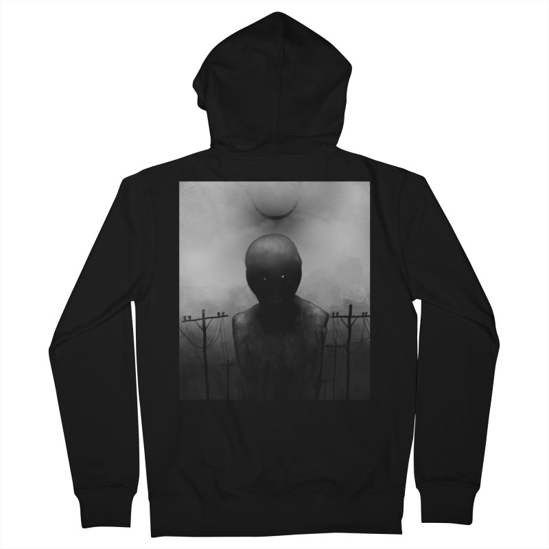 Untitled 54 Men's Zip-Up Hoody by Black Abyss