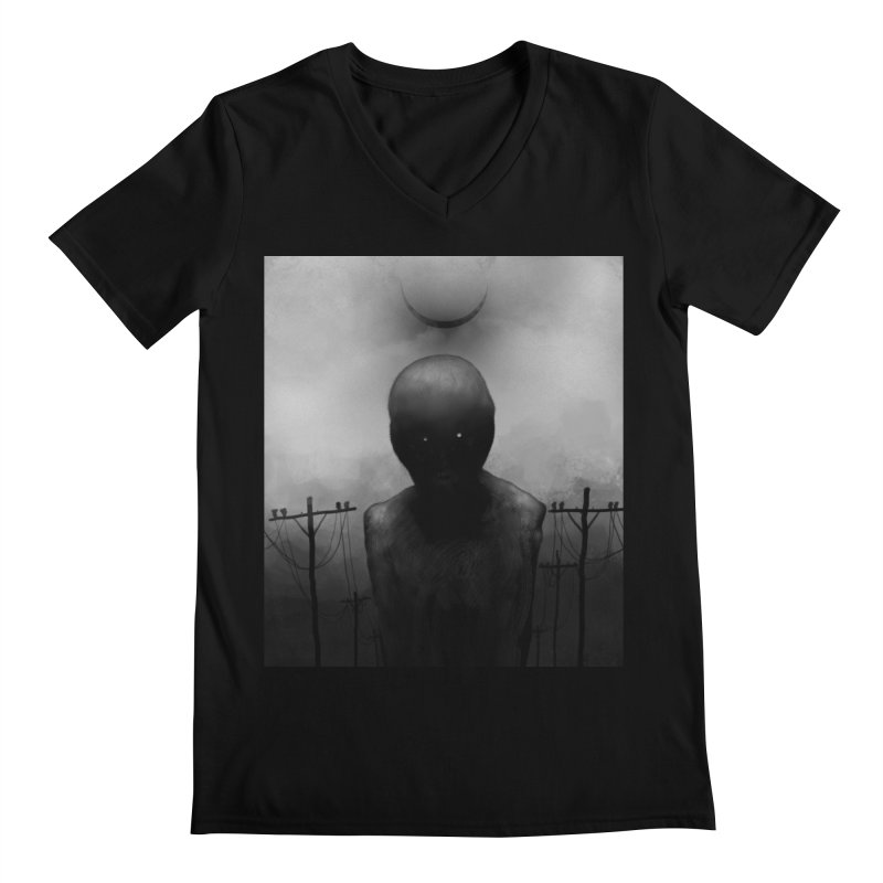 Untitled 54 Men's V-Neck by Black Abyss