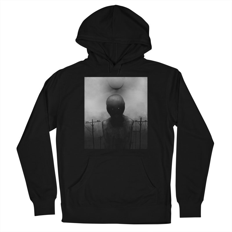 Untitled 54 Women's Pullover Hoody by Black Abyss