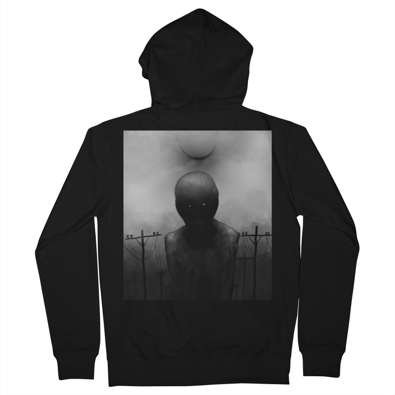 Untitled 54 Men's French Terry Zip-Up Hoody by Black Abyss