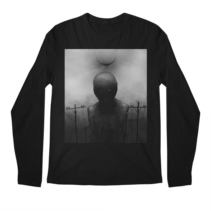 Untitled 54 Men's Regular Longsleeve T-Shirt by Black Abyss