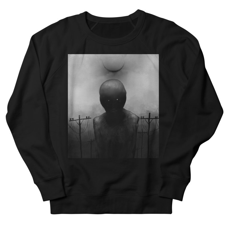 Untitled 54 Women's French Terry Sweatshirt by Black Abyss