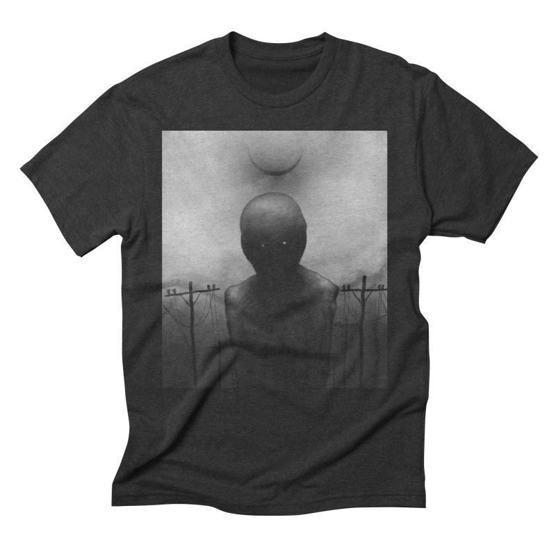 Untitled 54 Men's Triblend T-Shirt by Black Abyss