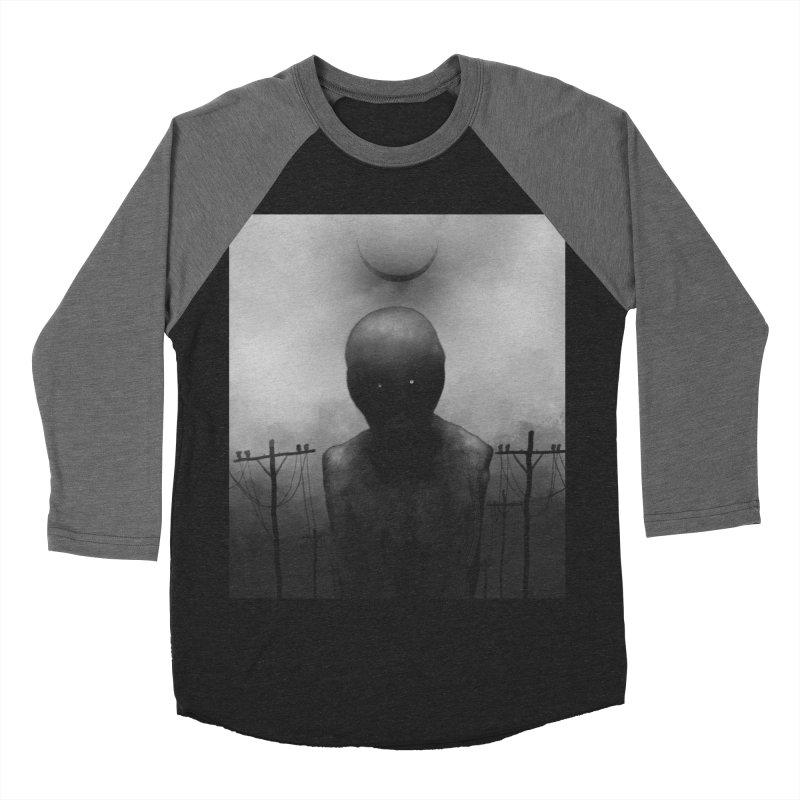 Untitled 54 Women's Baseball Triblend Longsleeve T-Shirt by Black Abyss