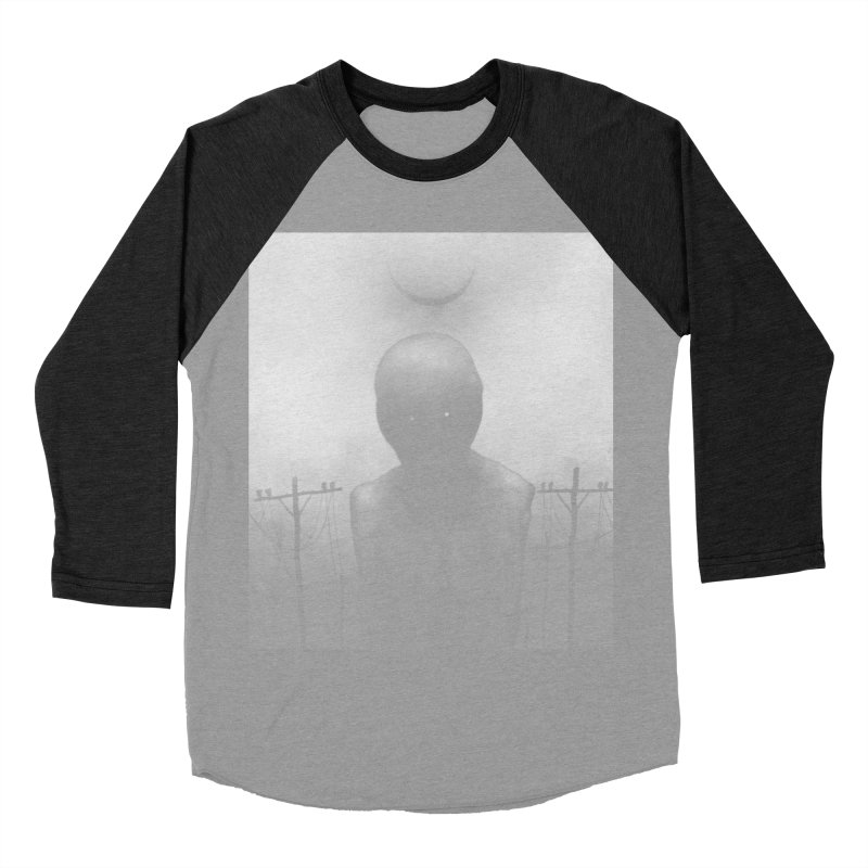 Untitled 54 Men's Baseball Triblend Longsleeve T-Shirt by Black Abyss