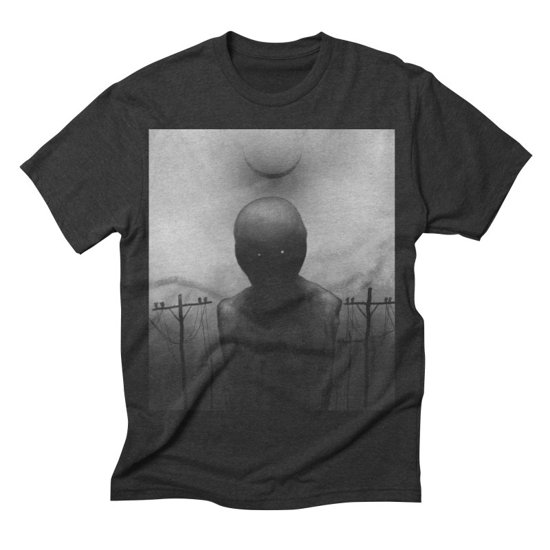 Untitled 54 Men's Triblend T-shirt by blackabyss's Artist Shop
