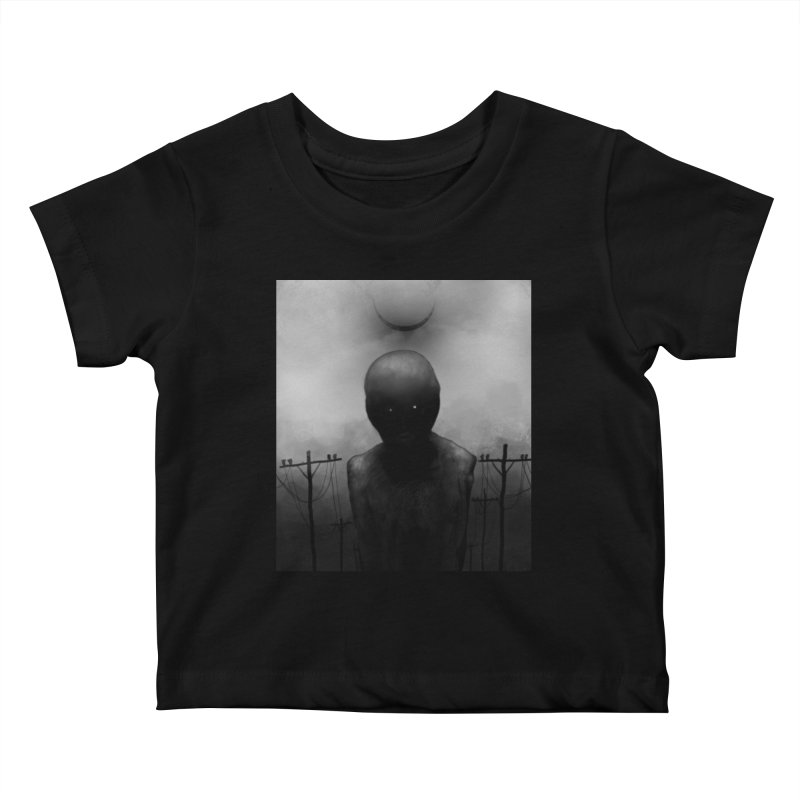 Untitled 54 Kids Baby T-Shirt by Black Abyss