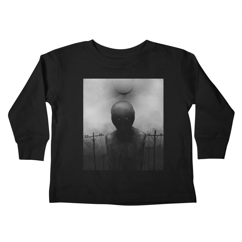 Untitled 54 Kids Toddler Longsleeve T-Shirt by Black Abyss