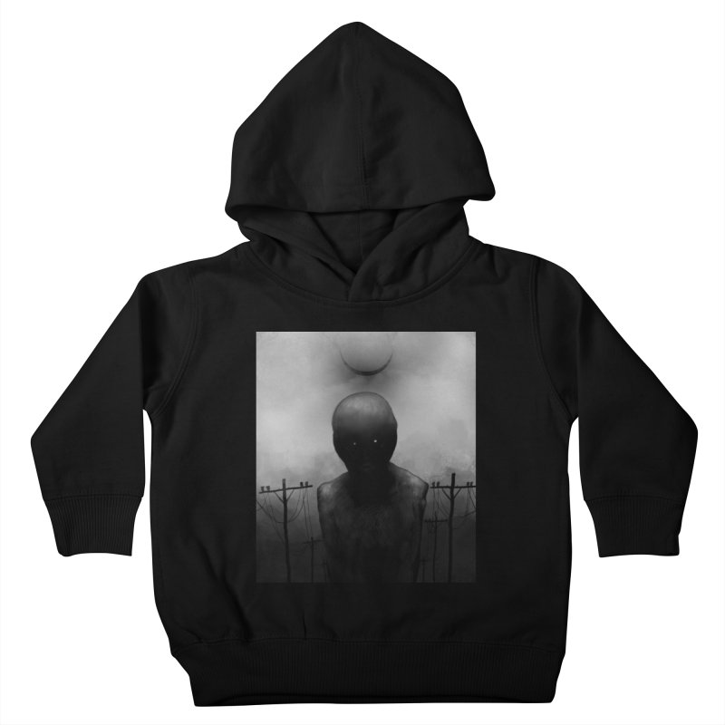 Untitled 54 Kids Toddler Pullover Hoody by Black Abyss