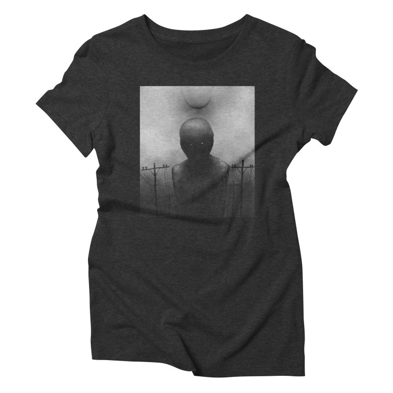 Untitled 54 Women's Triblend T-Shirt by Black Abyss