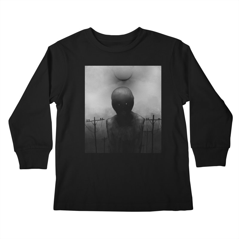 Untitled 54 Kids Longsleeve T-Shirt by blackabyss's Artist Shop