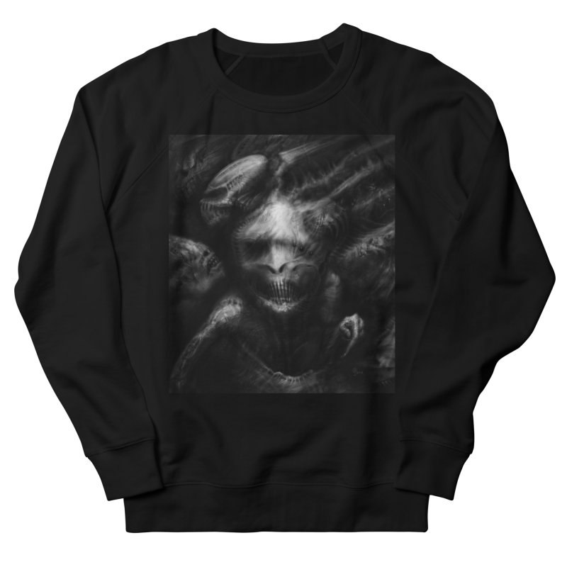 Untitled 21 Women's French Terry Sweatshirt by Black Abyss