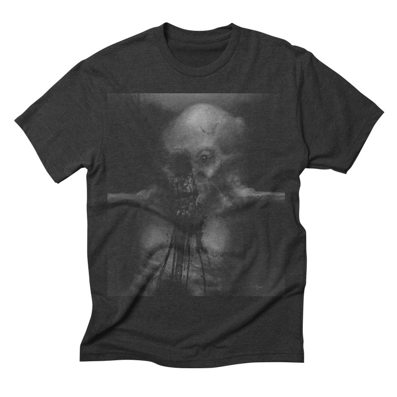 Untitled 75 Men's Triblend T-shirt by blackabyss's Artist Shop