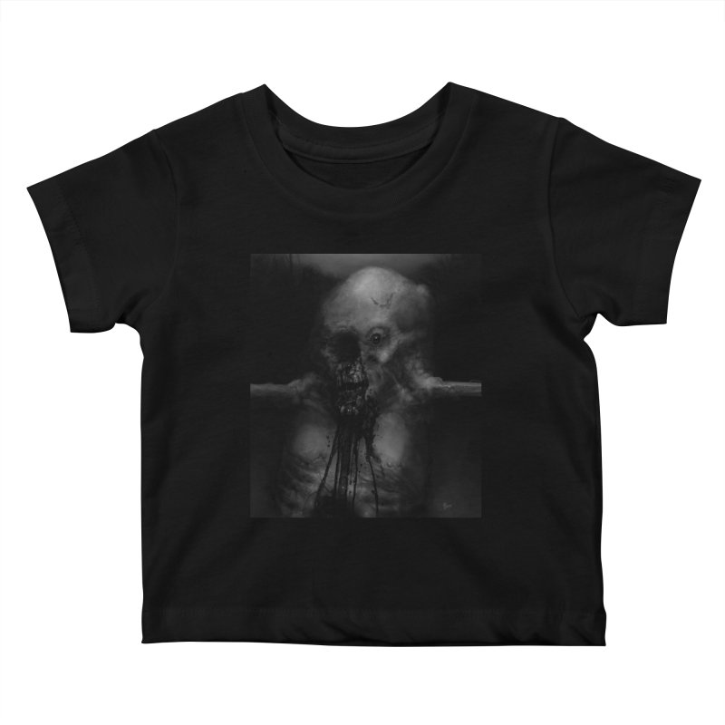 Untitled 75 Kids Baby T-Shirt by Black Abyss