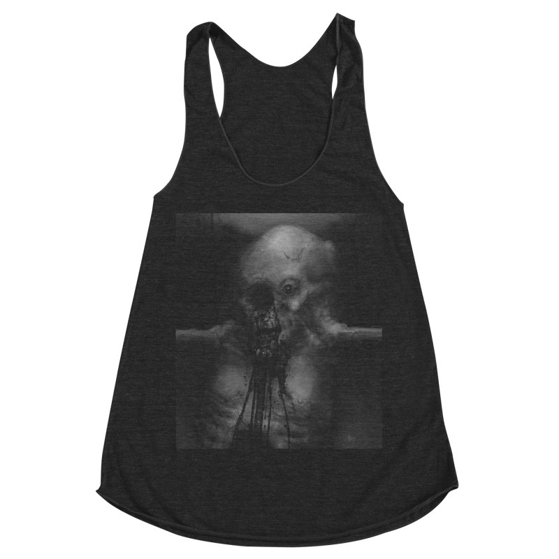 Untitled 75 Women's Racerback Triblend Tank by Black Abyss