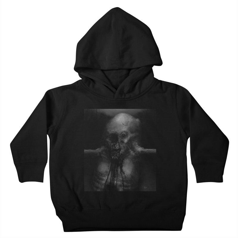 Untitled 75 Kids Toddler Pullover Hoody by Black Abyss