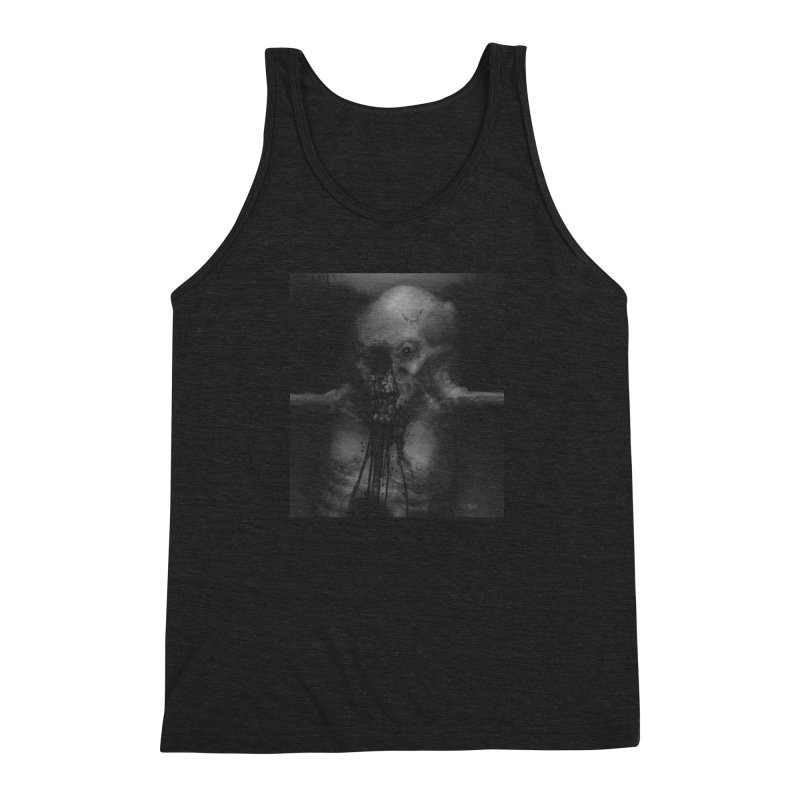 Untitled 75 Men's Triblend Tank by blackabyss's Artist Shop