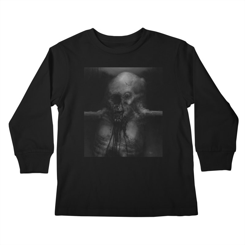 Untitled 75 Kids Longsleeve T-Shirt by Black Abyss