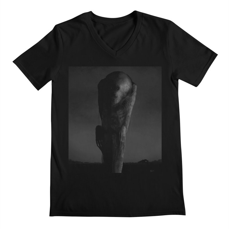 Untitled 80 Men's V-Neck by Black Abyss