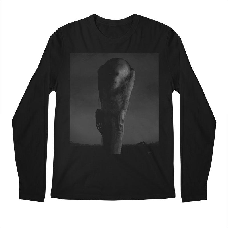 Untitled 80 Men's Regular Longsleeve T-Shirt by Black Abyss