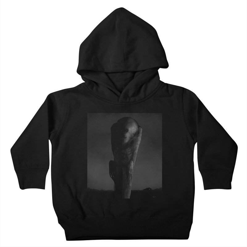 Untitled 80 Kids Toddler Pullover Hoody by Black Abyss