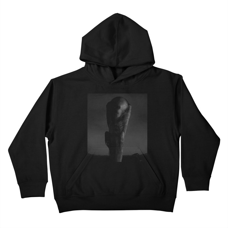 Untitled 80 Kids Pullover Hoody by Black Abyss