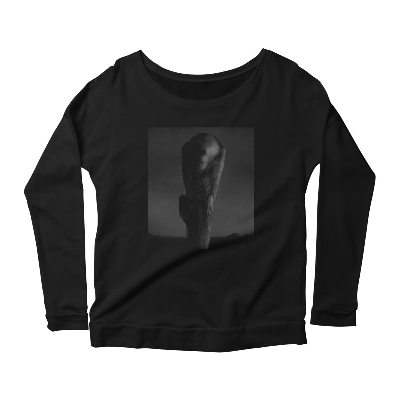 Untitled 80 Women's Scoop Neck Longsleeve T-Shirt by Black Abyss
