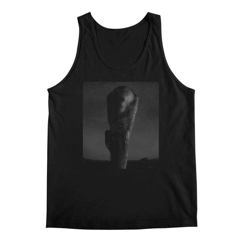 Untitled 80 Men's Tank by Black Abyss