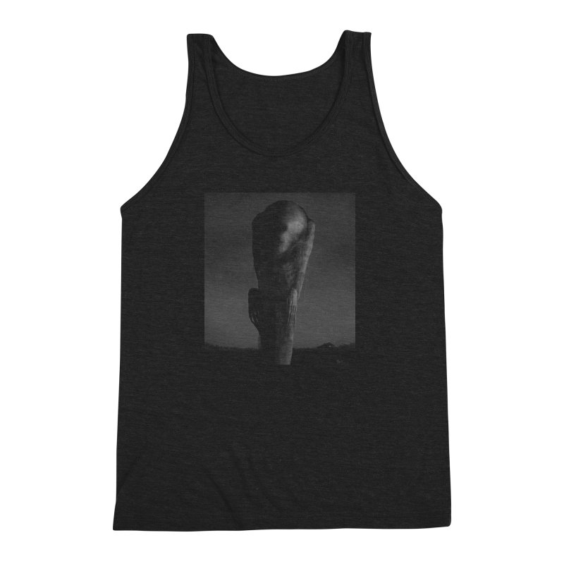 Untitled 80 Men's Triblend Tank by blackabyss's Artist Shop