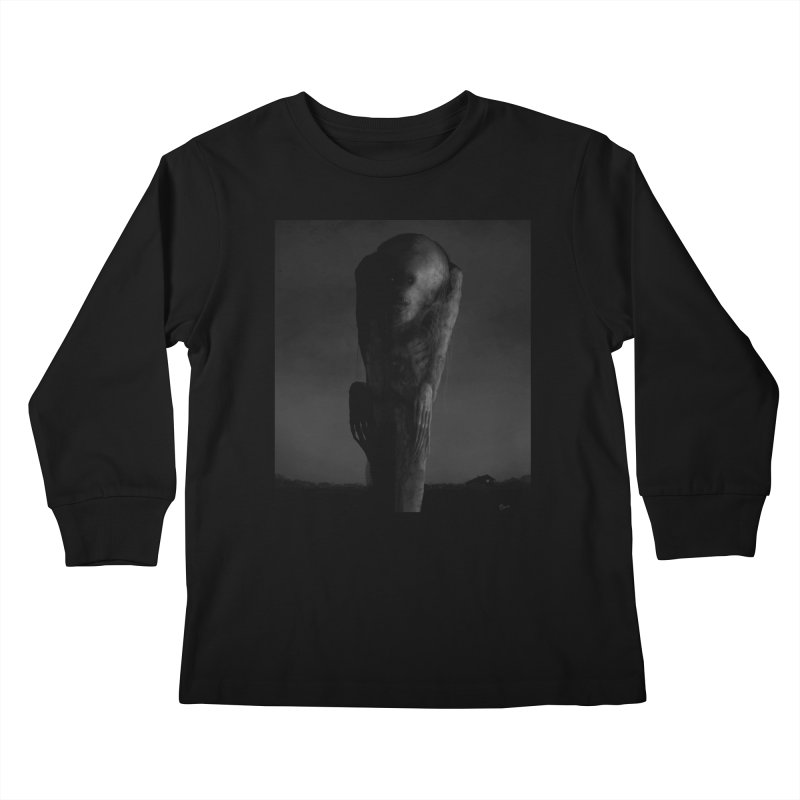 Untitled 80 Kids Longsleeve T-Shirt by Black Abyss