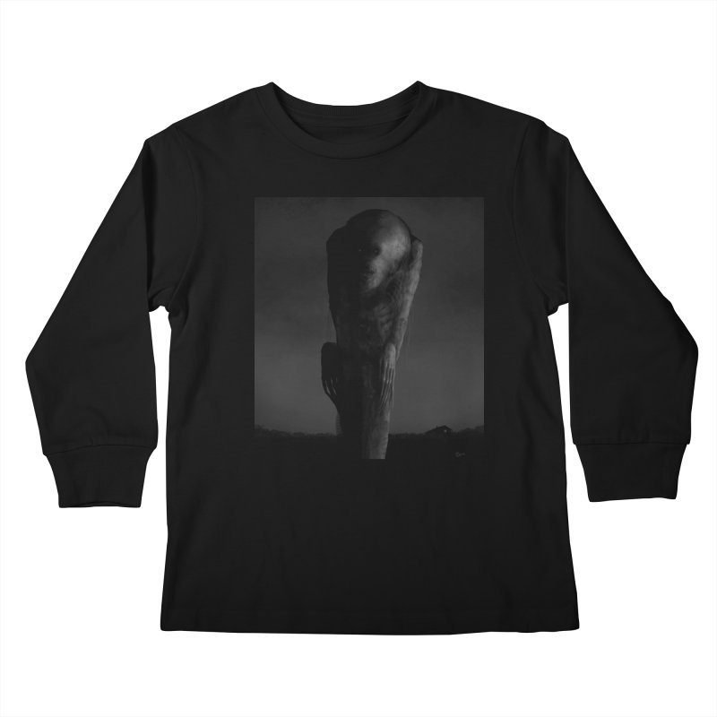 Untitled 80 Kids Longsleeve T-Shirt by blackabyss's Artist Shop