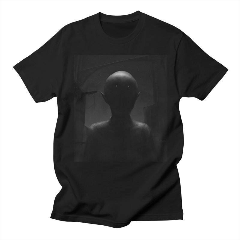 Untitled 77 Men's Regular T-Shirt by Black Abyss
