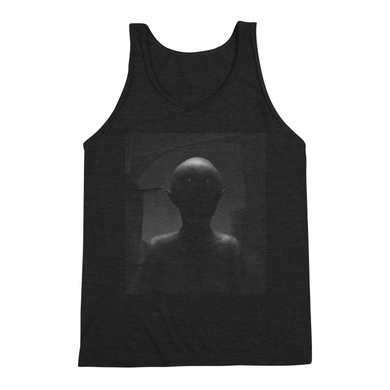 Untitled 77 Men's Triblend Tank by Black Abyss