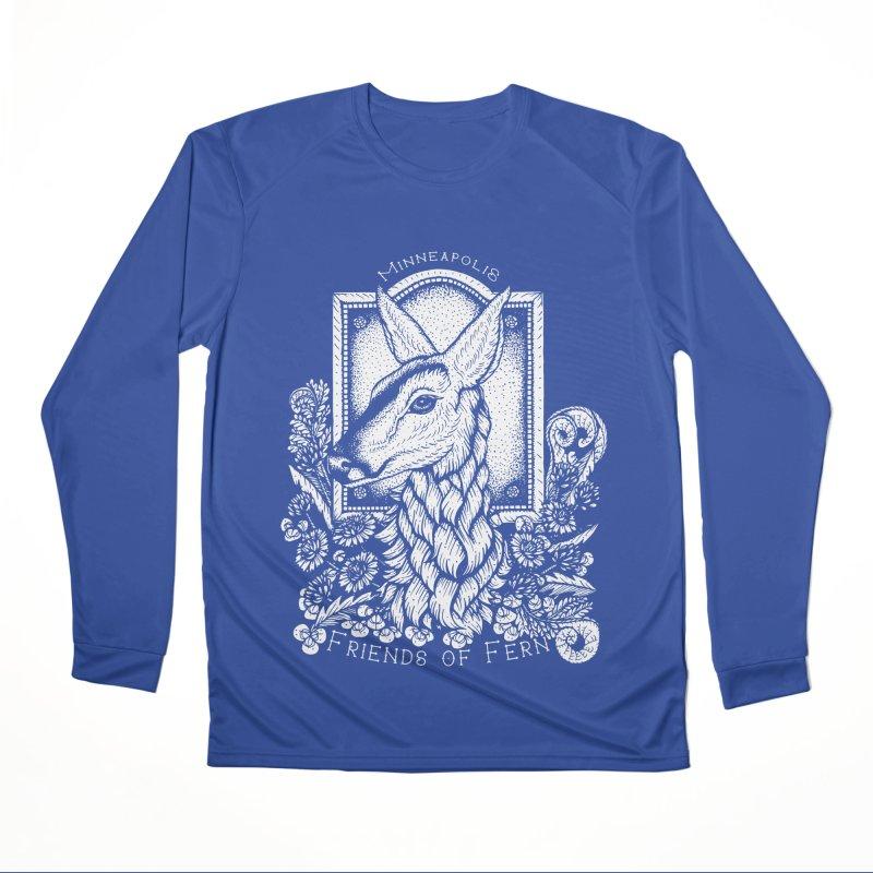 Friends of Fern Women's Performance Unisex Longsleeve T-Shirt by Black Banjo Arts