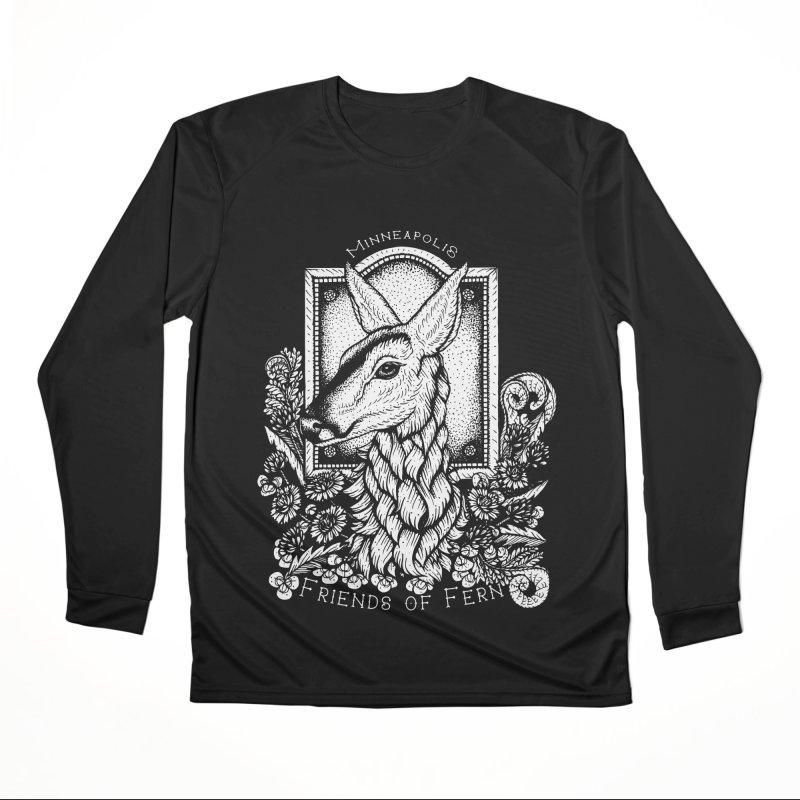 Friends of Fern Men's Longsleeve T-Shirt by Black Banjo Arts
