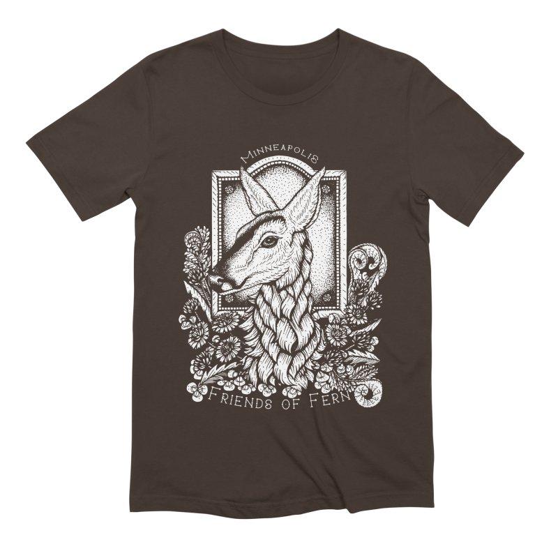 Friends of Fern Men's Extra Soft T-Shirt by Black Banjo Arts
