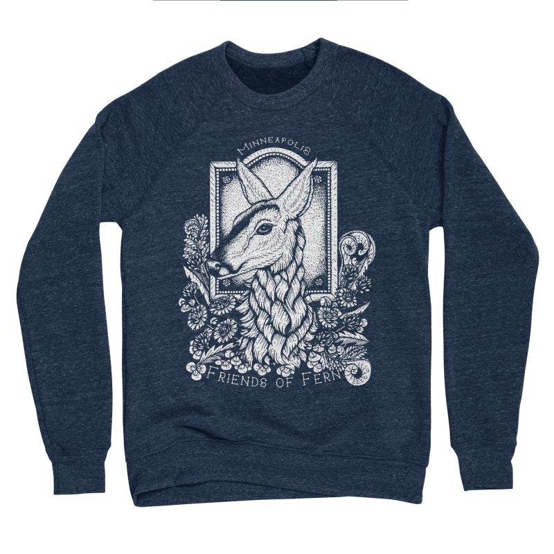 Friends of Fern Women's Sponge Fleece Sweatshirt by Black Banjo Arts