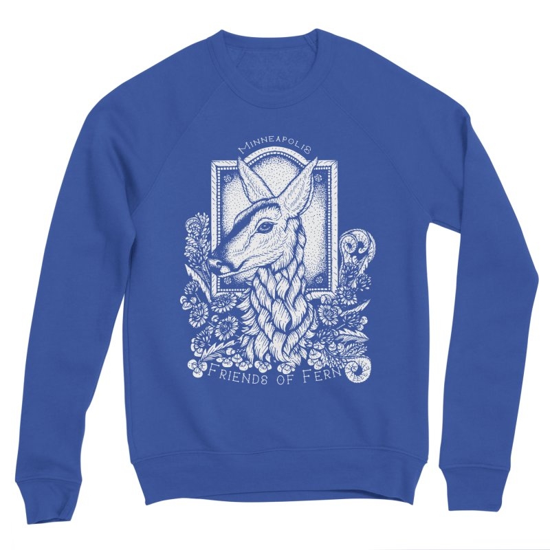 Friends of Fern Men's Sweatshirt by Black Banjo Arts