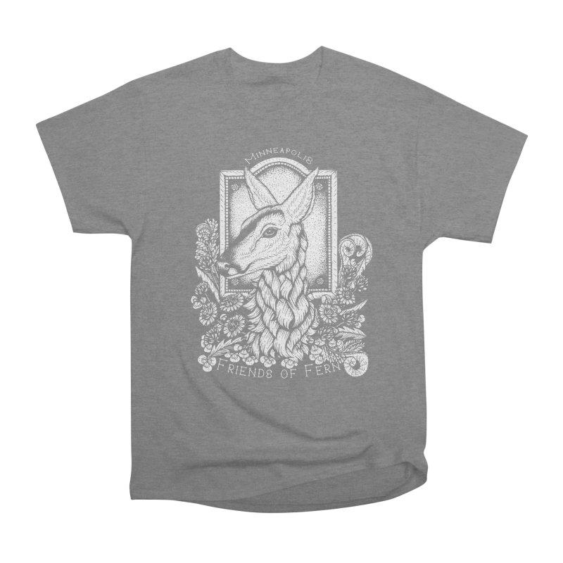 Friends of Fern Women's Heavyweight Unisex T-Shirt by Black Banjo Arts
