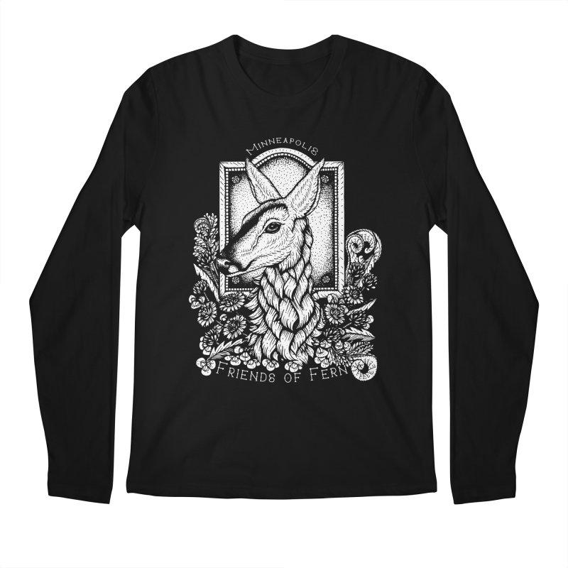 Friends of Fern Men's Regular Longsleeve T-Shirt by Black Banjo Arts