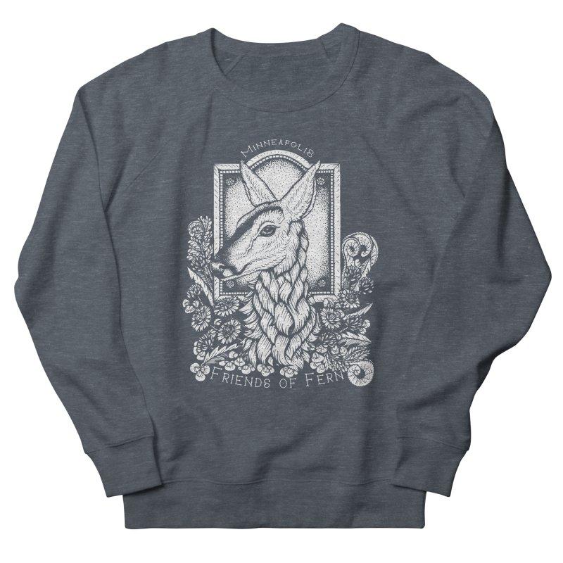Friends of Fern Women's French Terry Sweatshirt by Black Banjo Arts