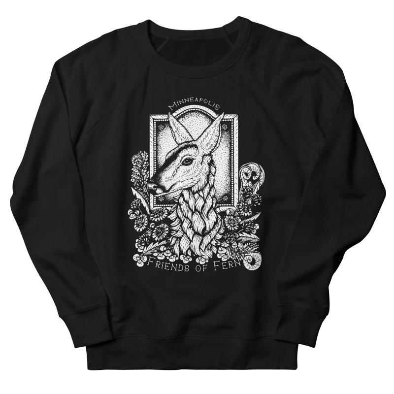 Friends of Fern Men's French Terry Sweatshirt by Black Banjo Arts