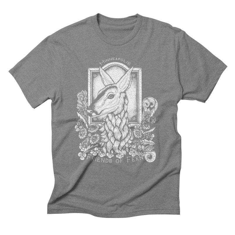 Friends of Fern Men's Triblend T-Shirt by Black Banjo Arts