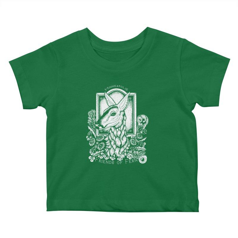 Friends of Fern Kids Baby T-Shirt by Black Banjo Arts