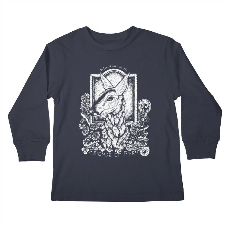Friends of Fern Kids Longsleeve T-Shirt by Black Banjo Arts
